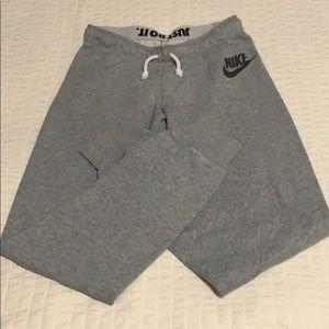 Gray Nike sweatpants/joggers